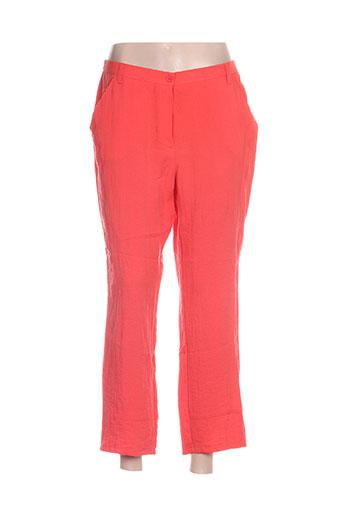 jean gabriel pantacourts femme de couleur orange