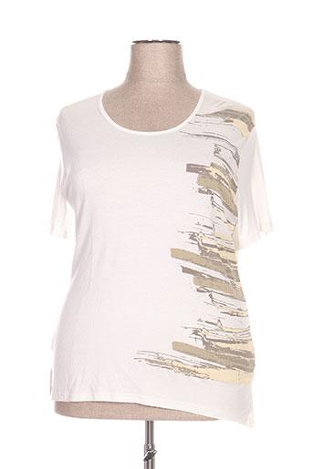 jean gabriel t-shirts femme de couleur beige