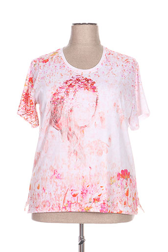 jean gabriel t-shirts femme de couleur orange