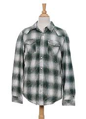 Chemise manches longues vert GARCIA pour garçon seconde vue
