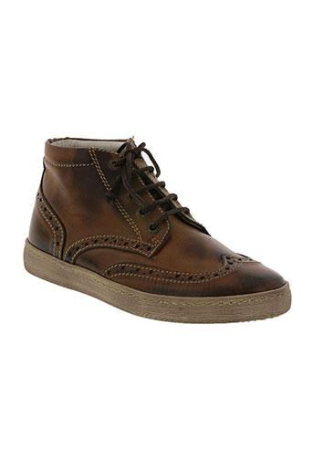 can be chaussures garçon de couleur marron