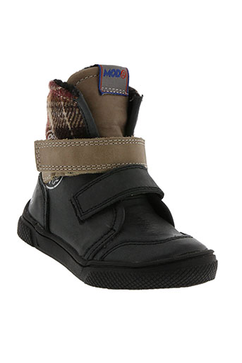 mod8 chaussures garçon de couleur noir
