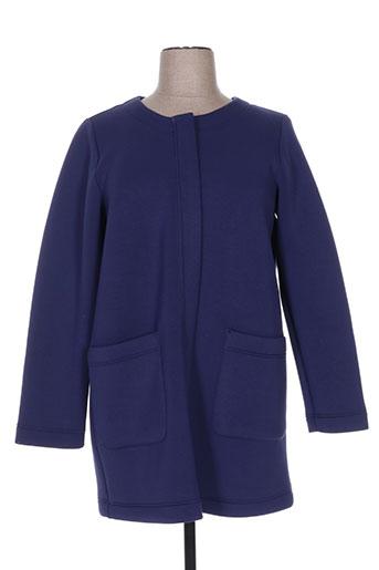 marina rinaldi manteaux femme de couleur bleu