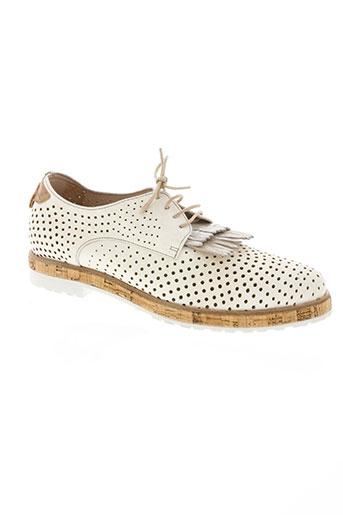 muratti chaussures femme de couleur blanc