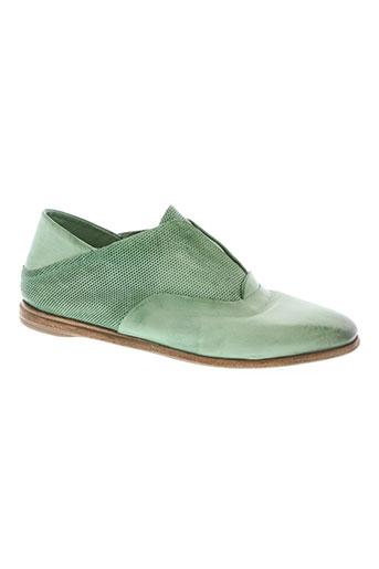 a.s.98 chaussures femme de couleur vert