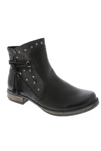 delires de fille chaussures femme de couleur noir