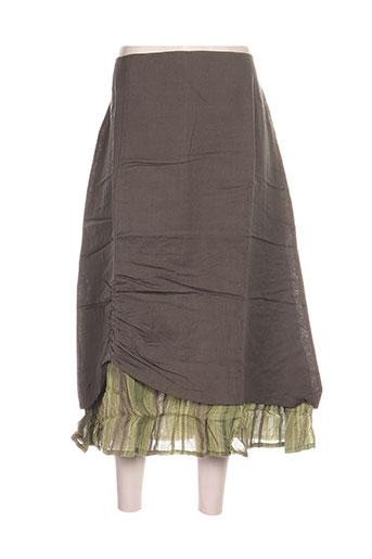 blancheporte jupes femme de couleur vert