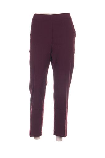 blancheporte pantalons femme de couleur violet