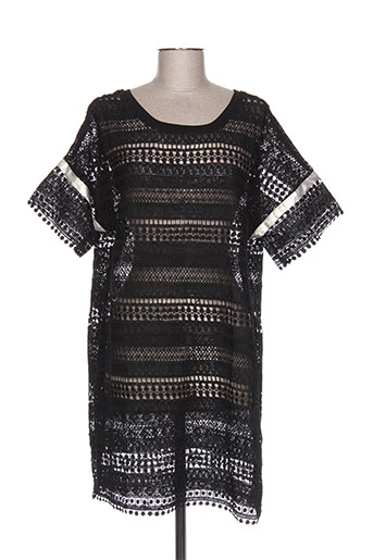 Robe courte noir HANNY DEEP pour femme