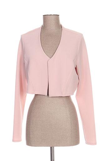 romeo pour juliette vestes femme de couleur rose