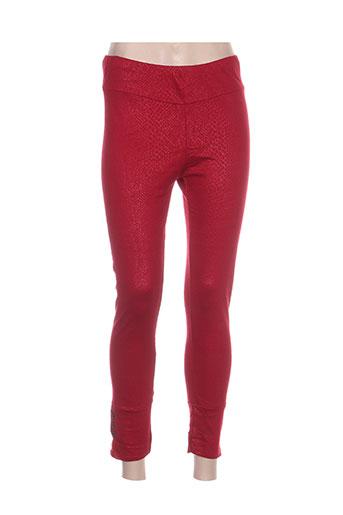 pourquoi pas nous pantalons femme de couleur rouge