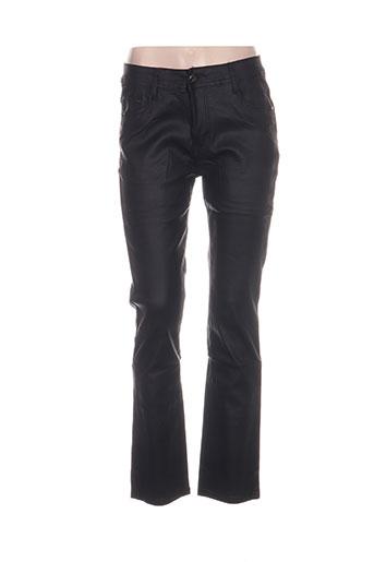 my christy pantalons femme de couleur noir