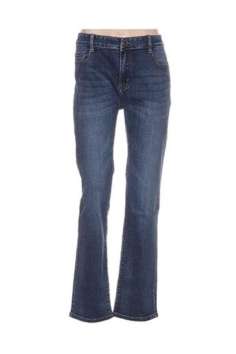 bs jeans jeans femme de couleur bleu