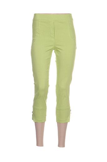 halogene pantacourts femme de couleur vert