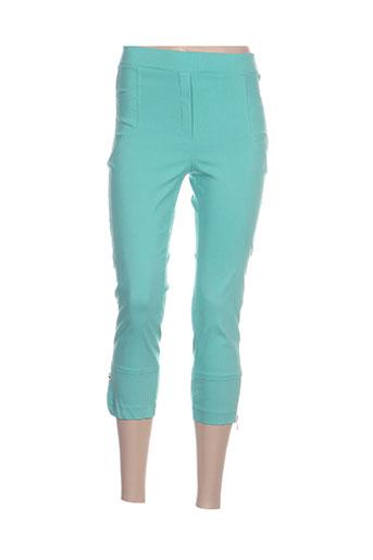 86165ac2736 halogene pantacourts femme de couleur bleu