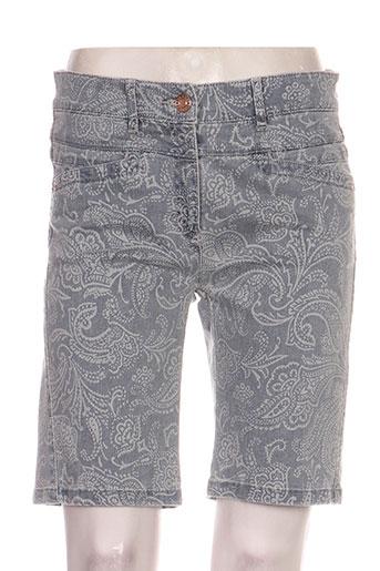zerres shorts / bermudas femme de couleur gris