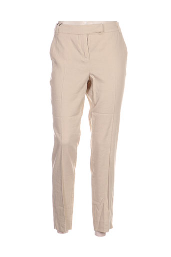 Pantalon casual beige MARELLA pour femme