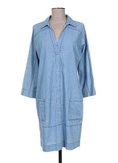 Robe courte bleu D.SPORT pour femme