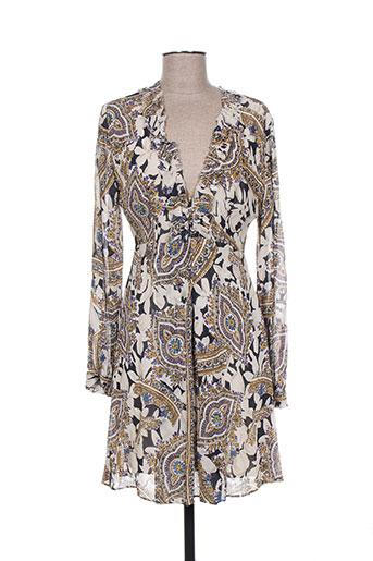 twinset robes femme de couleur beige