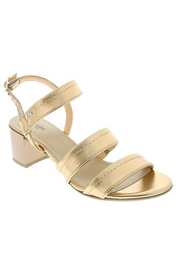 nero giardini chaussures femme de couleur jaune