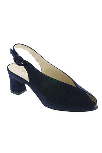 peter kaiser chaussures femme de couleur bleu