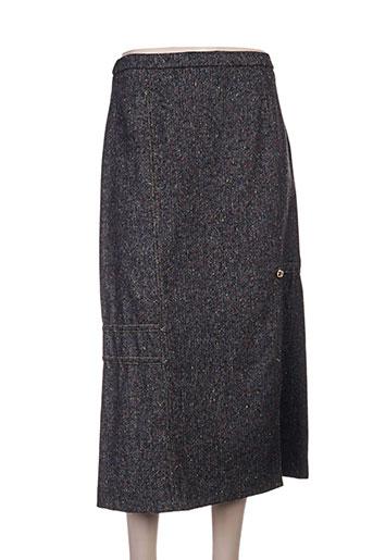 pauporté jupes femme de couleur noir