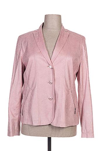 duvami vestes femme de couleur rose