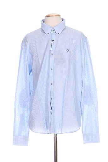 forecast chemises homme de couleur bleu
