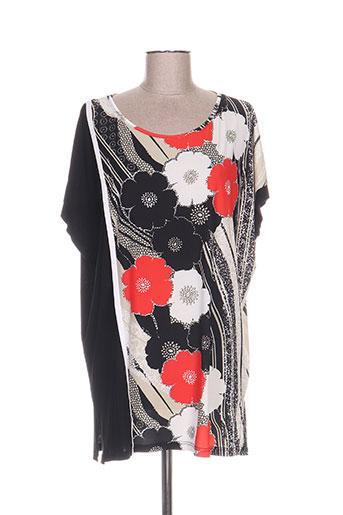ko.moda tuniques femme de couleur noir