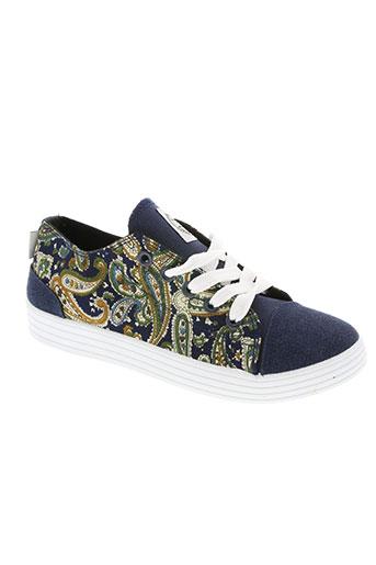 happy luck chaussures fille de couleur bleu