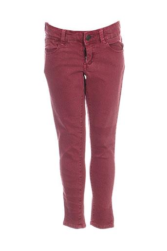 tiffosi jeans fille de couleur rouge