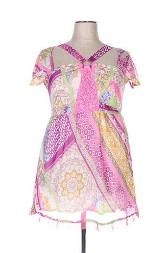 les fees du vent robes femme de couleur rose