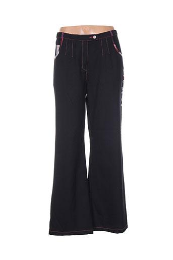 les fees du vent pantalons femme de couleur noir