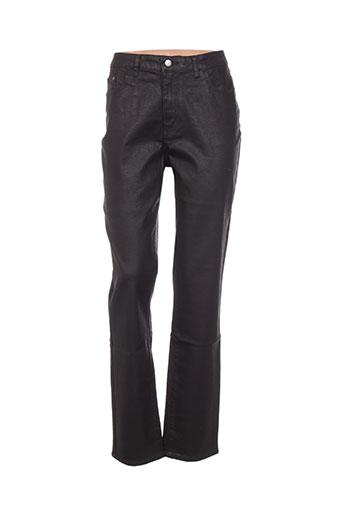 kanope jeans femme de couleur marron