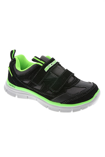 skechers chaussures garçon de couleur noir