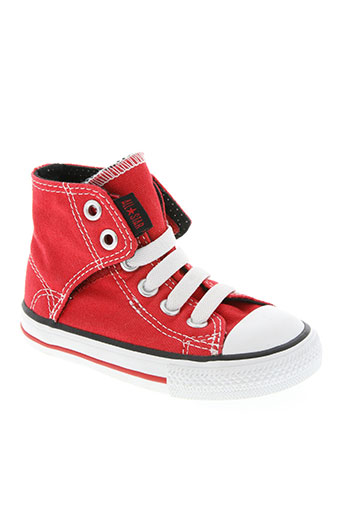 convair chaussures enfant de couleur rouge