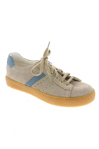 bopy chaussures garçon de couleur beige