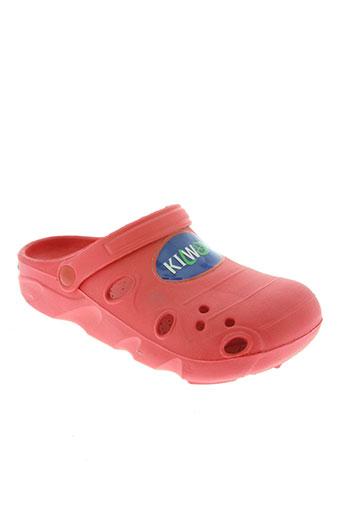 kilwox chaussures enfant de couleur rouge