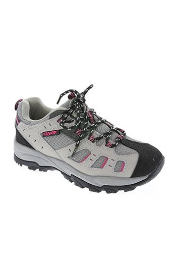 kilwox chaussures femme de couleur gris
