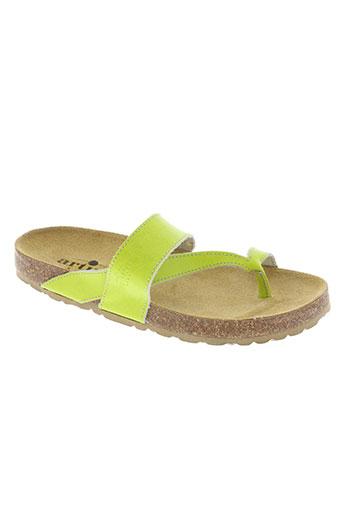 artika soft chaussures femme de couleur vert
