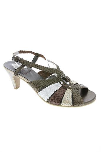 hasley chaussures femme de couleur marron