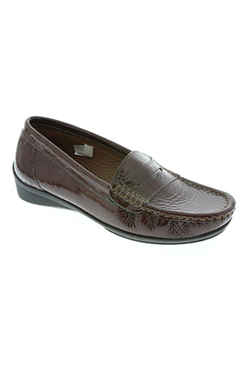 artika soft chaussures femme de couleur marron