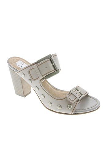 spm chaussures femme de couleur gris