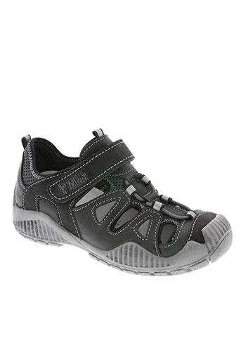 primigi chaussures garçon de couleur noir