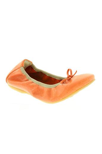 primigi chaussures fille de couleur orange