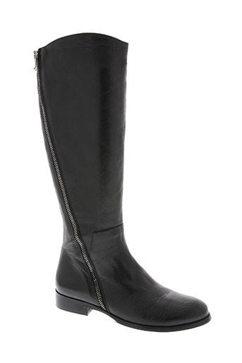 la zampa chaussures femme de couleur noir