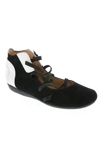 fugitive chaussures fille de couleur noir