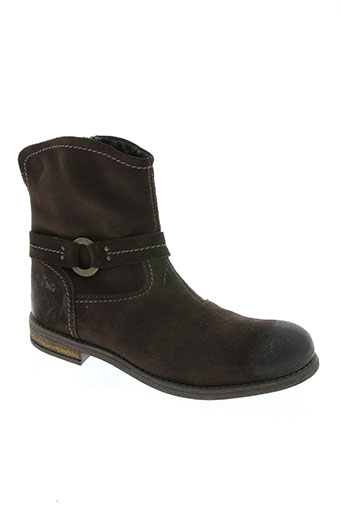 primigi chaussures femme de couleur marron