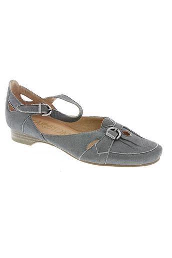 karston chaussures femme de couleur gris
