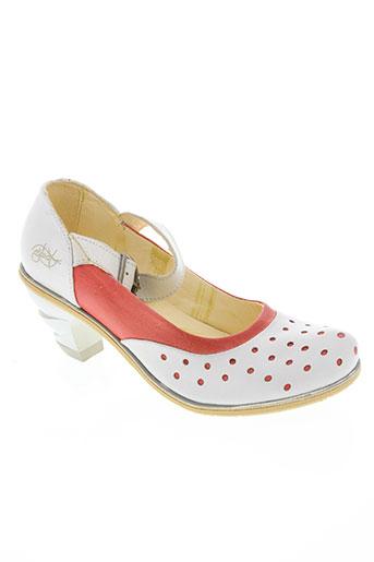 eject chaussures femme de couleur orange